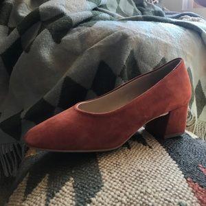 Zara Suede Heels